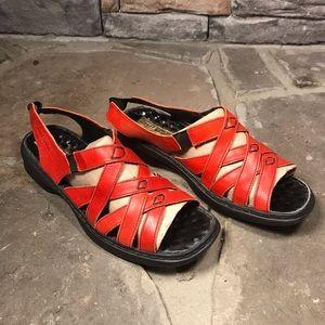 Josef Seibel womans sandals  Red Size 39